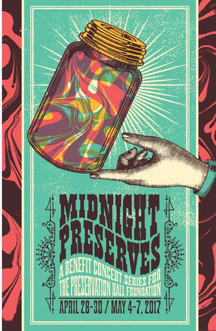 Midnight Preserves 2017 Poster