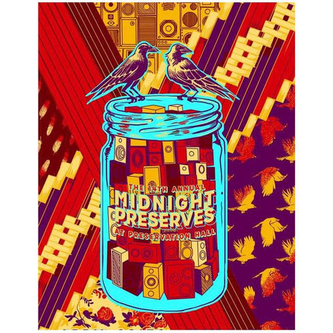 "Midnight Preserves 2018 ""CrowJar"" Poster"