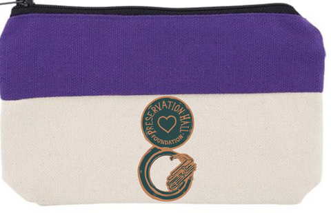 PHF SOUSAFUND PURPLE PENCIL POUCH