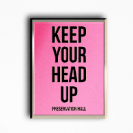 Keep Your Head Up Enamel Pin
