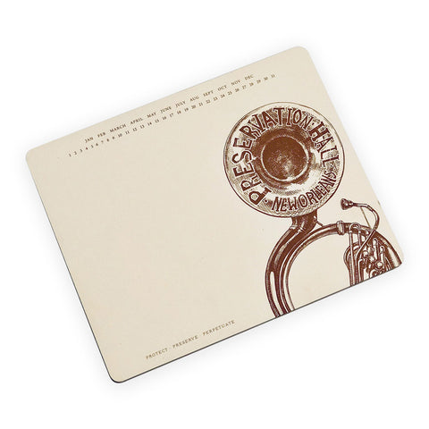 Large Tuba Notepad