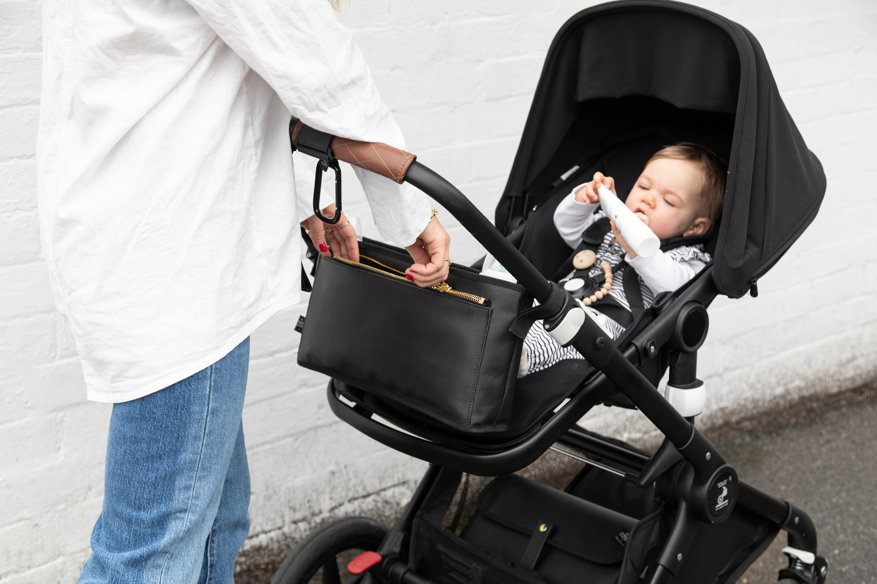 Pram Caddy - Black