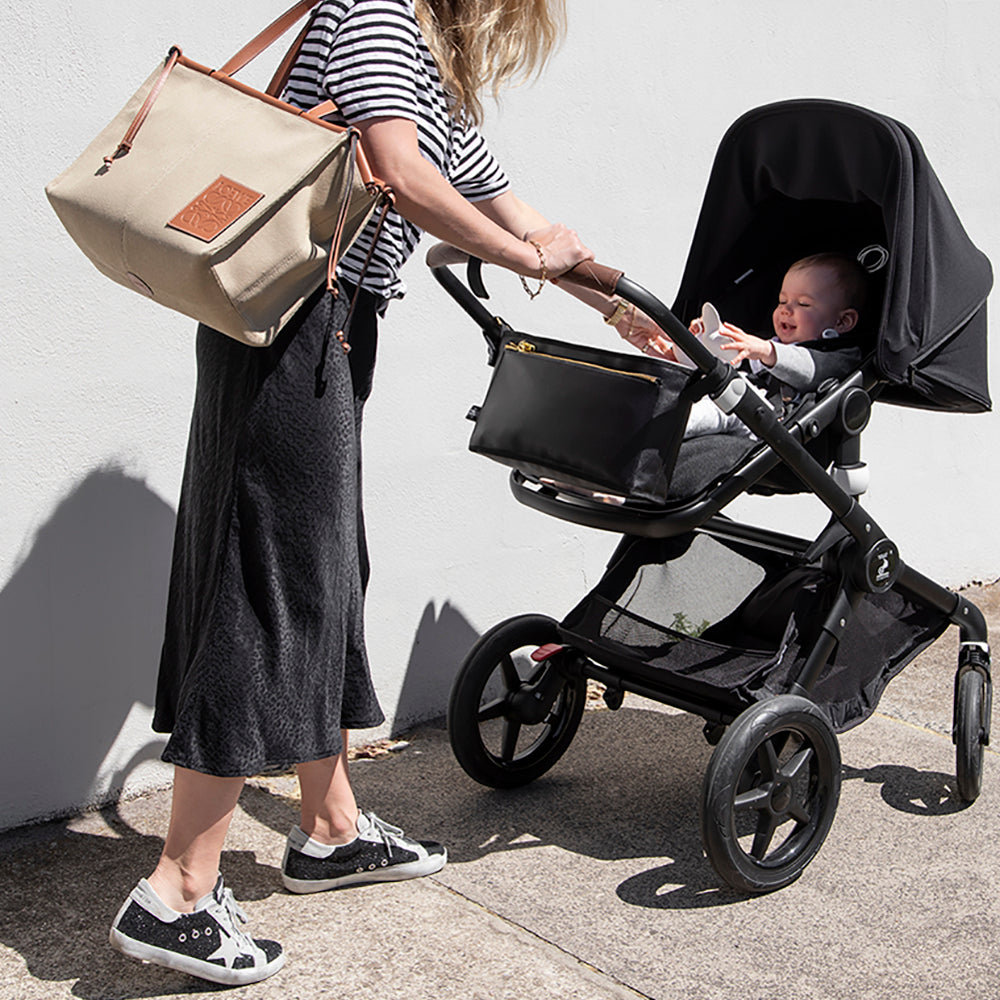 TNS Pram Caddy - Black