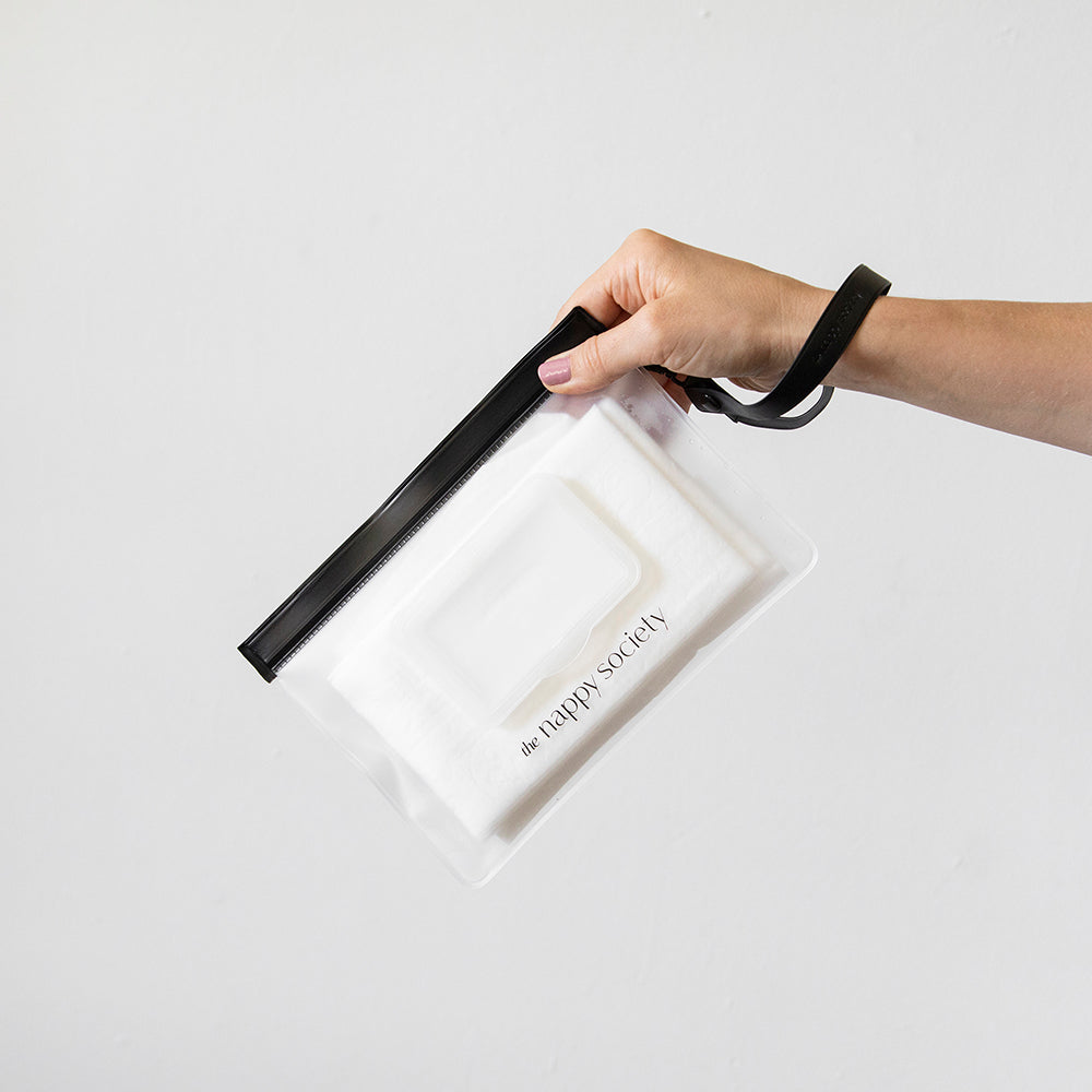 Reusable Wet Wipe Pouch