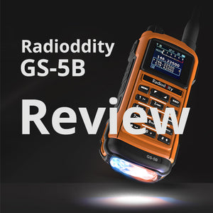 Radioddity GS-5B Overall Review and Report