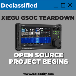 Xiegu GSOC Teardown | Open Source Project Begins