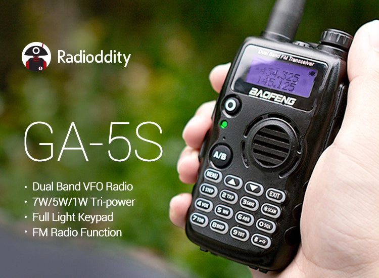 Radioddity GA-5S Test and Review