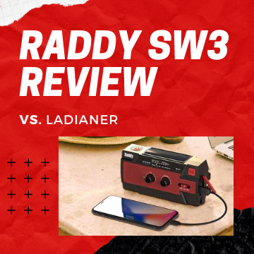 Raddy vs. LEDIANER: Raddy SW3 Radio Review
