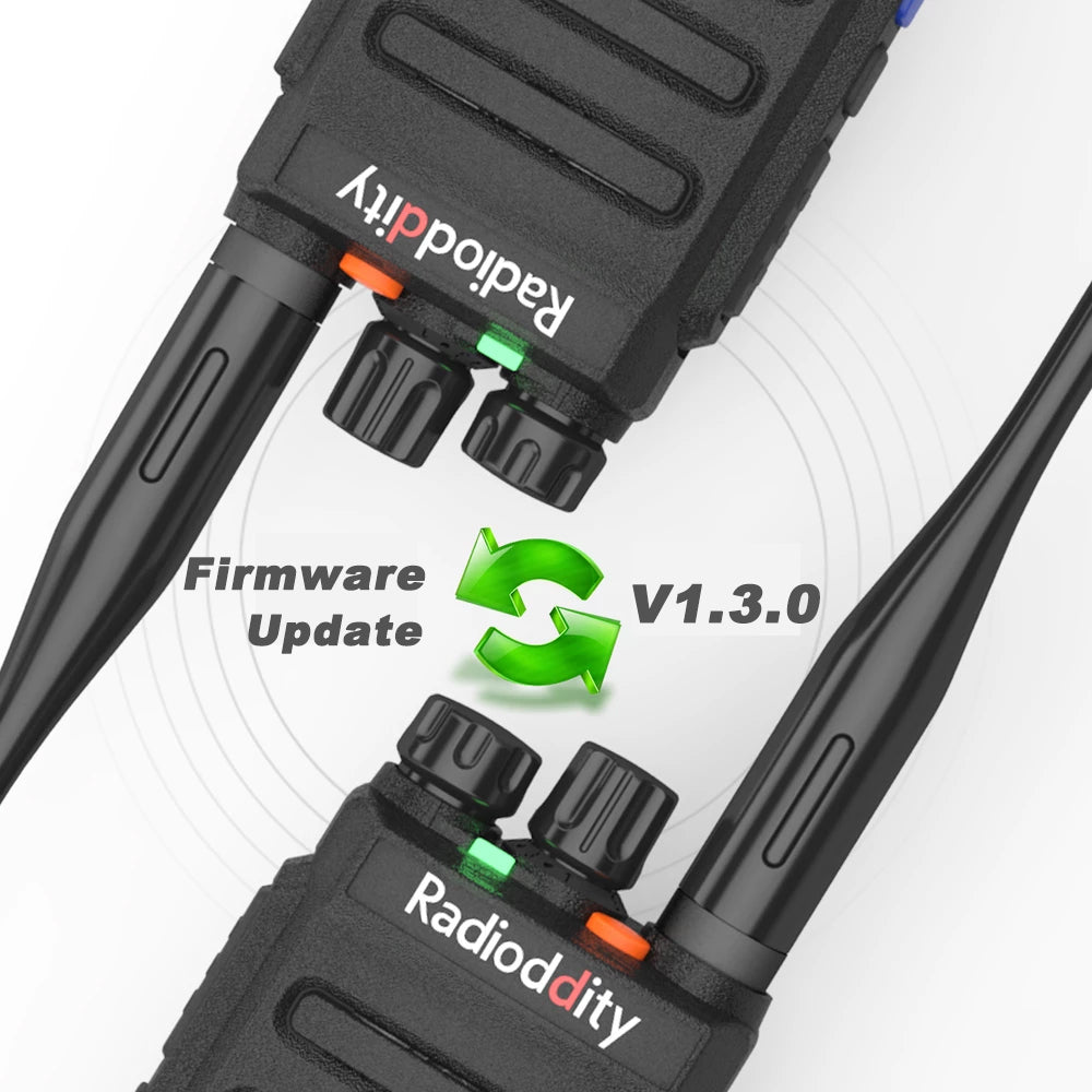 GD-77S Update | Firmware V1.3.0 & Software V1.1.10