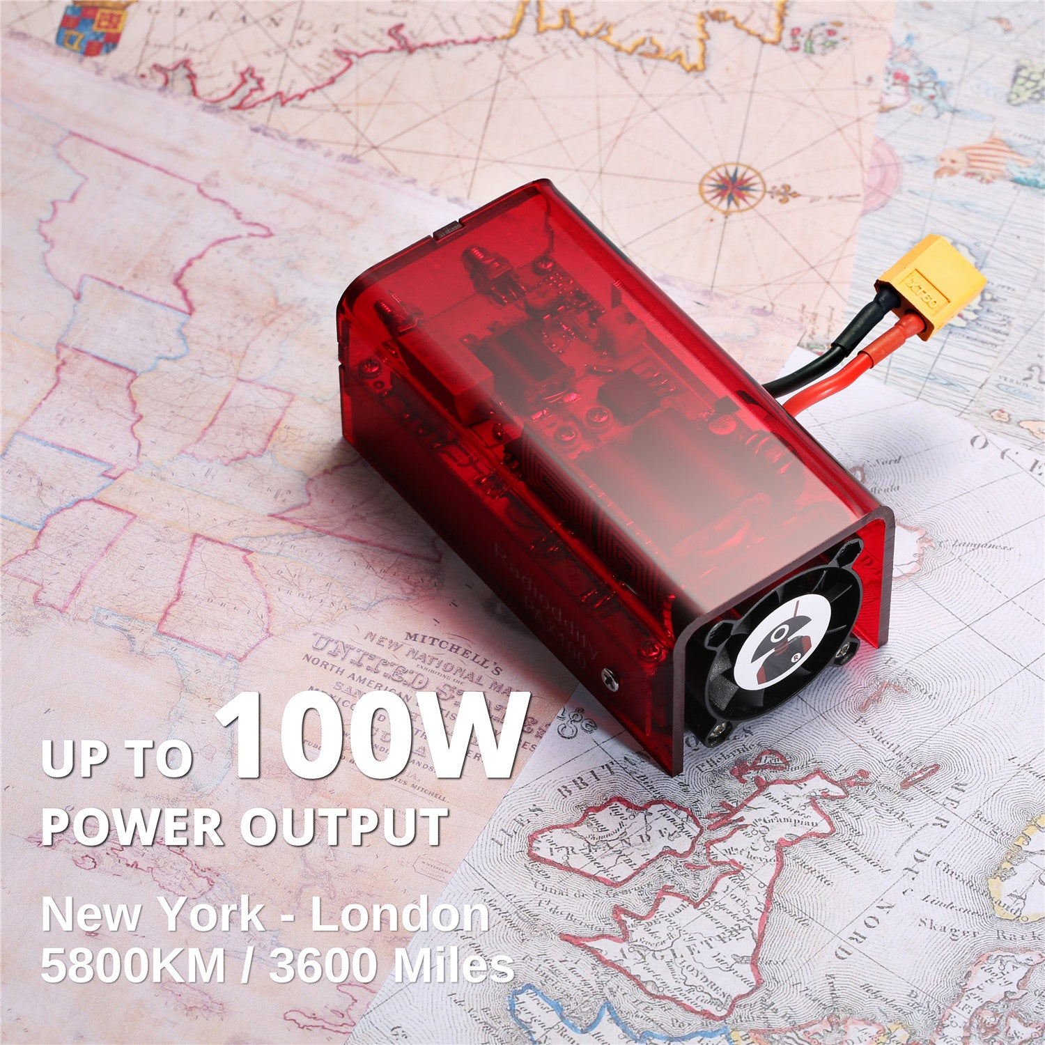 Up to 100W Power Output