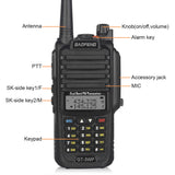 Baofeng GT-3WP Waterproof Two Way Radio + Programming Cable