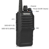 Baofeng BF-9700 [5 Pack] | UHF | 7/5/1W | Waterproof | Noise Reduction - Radioddity