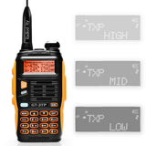 Baofeng GT-3TP Mark III Two way Radio + Remote Speaker + Programming Cable - Radioddity
