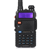 Baofeng UV-5RTP Transceiver + Speaker Mic + Cable - Radioddity