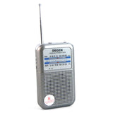 DEGEN DE333 Mini AM FM 2 Band Radio