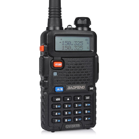 Baofeng UV-5RTP | Dual Band | 8W/4W/1W | Tri-power Two Way Radio | w/ Cable & Speaker