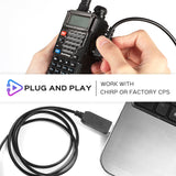Radioddity PC001 FTDI USB Programming Cable | for Baofeng Radioddity Kenwood TYT - Radioddity