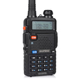 Baofeng UV-5RTP [2 Pack + 2 Speaker + Cable] | Dual Band | 8W/4W/1W | Tri-power - Radioddity