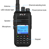 TYT MD-380 UHF DMR Digital Radio +  Remote Speaker - Radioddity
