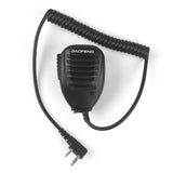 Baofeng GT-3 Mark II | Dual Band | 5W | Better Antenna | VOX | with Speaker & Cable - Radioddity