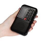 Raddy RF28 Digital Tuning FM Radio | Portable MP3 | Flashlight | Sleep Timer | Support TF Card USB Drive - Radioddity