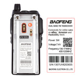 Baofeng UV-82L | Dual Band | Dual PTT | 1W Loud Speaker | Better Antenna - Radioddity