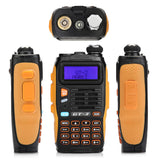 Baofeng GT-3 Mark II [5 Pack + Speaker] | Dual Band | 5W | Better Antenna | VOX - Radioddity