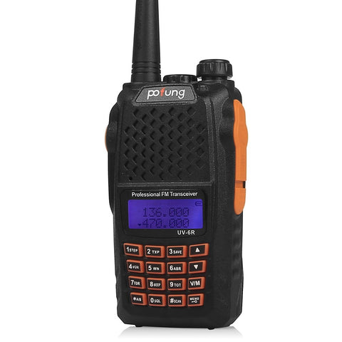 Baofeng UV-6R Dual Band Two-Way Radio