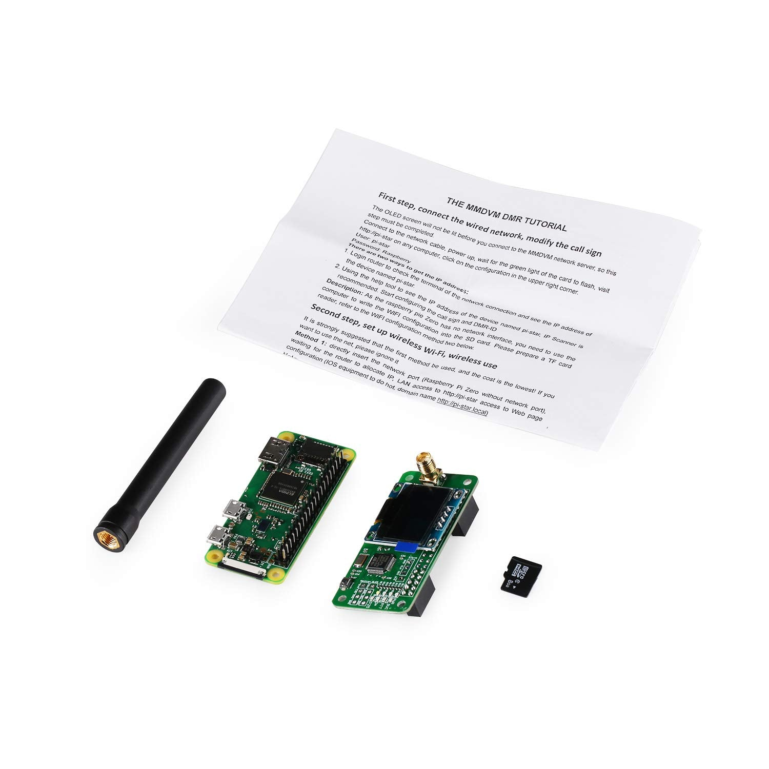MMDVM Hotspot WiFi Digital Voice Modem Kit with Raspberry Pi Zero