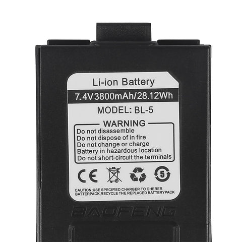 Baofeng GT-3 MKIII with 3800mAh Battery - Radioddity