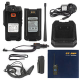 Baofeng GT-3WP Waterproof Two Way Radio + Programming Cable - Radioddity