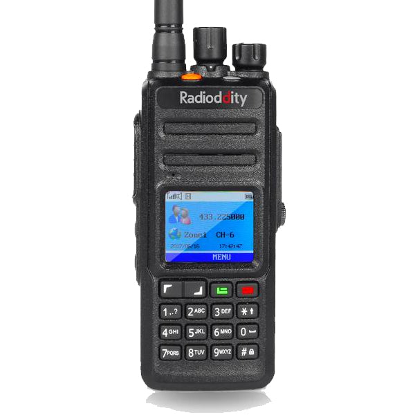 Radioddity GD-55 Plus | UHF DMR | 2800mA | 10/4W | Waterproof | Record