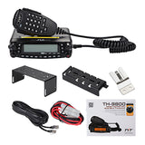 TYT TH-9800 Quad Band Mobile Radio + Programming Cable
