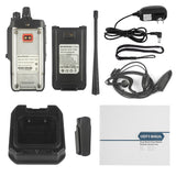 Baofeng BF-9700 [2 Pack + Cable] | UHF | 7/5/1W | Waterproof | Noise Reduction - Radioddity