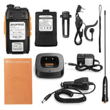 Baofeng GT-3 Mark II [3 Pack] | Dual Band | 5W | Better Antenna | VOX | Flashlight - Radioddity
