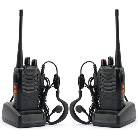 Baofeng BF-888S [2 Pack] | UHF |  5W | 16CH | CTCSS/DCS | Emergency Alarm | Flashlight - Radioddity
