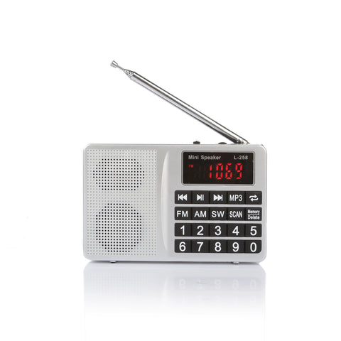 RF21 FM AM SW World Band Portable Radio Shortwave Multi-band Receiver - Radioddity