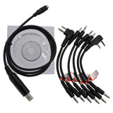 6 in 1 USB Programming Cable [DISCONTINUED] - Radioddity
