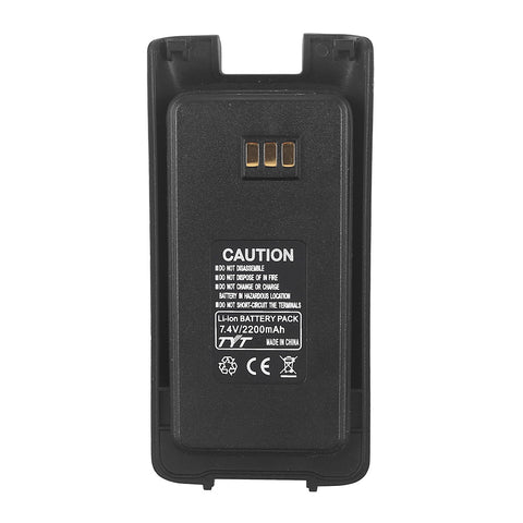7.4V 2200MAh Battery  for TYT MD-390/MD-390 GPS - Radioddity
