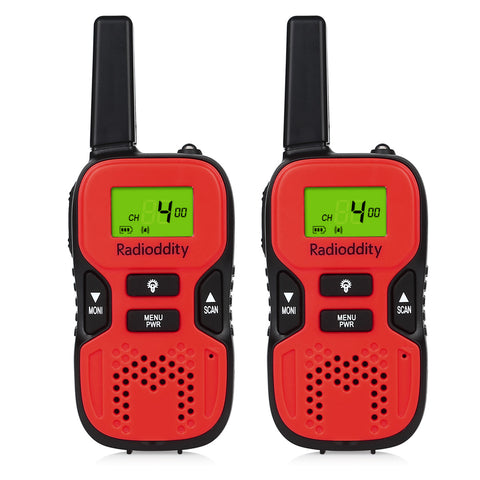 Radioddity R8 PMR446 Walkie Talkies For Kids [1 Pair] - Radioddity