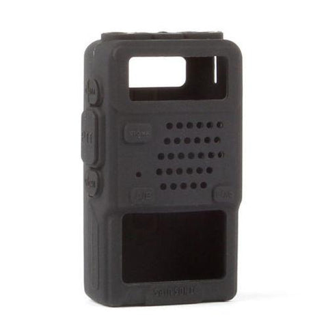 Black Rubber Softcase for Baofeng UV-5R - Radioddity