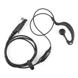 Ear Bar Earpiece Mic PTT Headset for Radioddity  GD-55/GD-55 Plus [DISCONTINUED] - Radioddity
