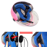 [前台隐藏] Motorcycle Helmet Wireless Headset Bluetooth 4.0 Intercom - Radioddity