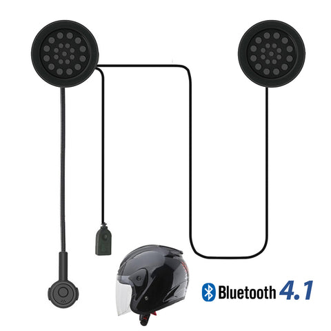 Radioddity M / M ProMotorcycle Bicycle Helmet Wireless Stereo Bluetooth 4.1 Headset - Radioddity