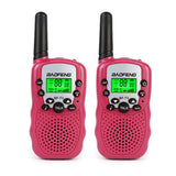 2x Baofeng T-3 Portalble Child Walkie Talkie