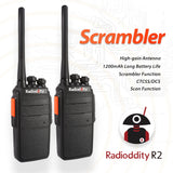 2 pcs x Radioddity R2 Two Way Radio - Radioddity