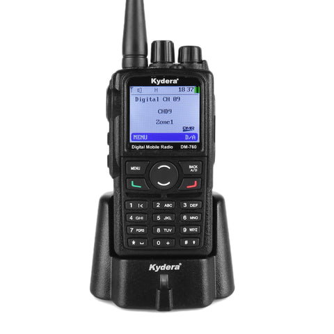 Kydera DM-760 DMR UHF Digital Radio [DISCONTINUED] - Radioddity