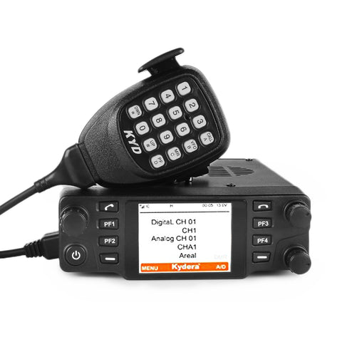 Kydera CDM-550H DMR UHF 40W 25KM Digital Car Radio [DISCONTINUED] - Radioddity