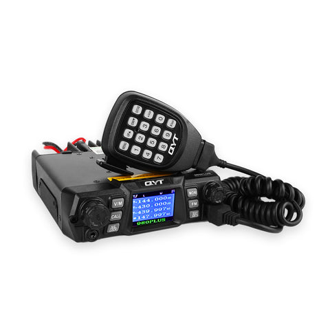 QYT KT-980 Plus Dual Band Car Transceiver Colorful LCD - Radioddity