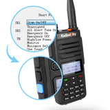 GD-77 DMR Dual Band Dual Time Slot Two Way Radio + Cable [10 Pack] - Radioddity